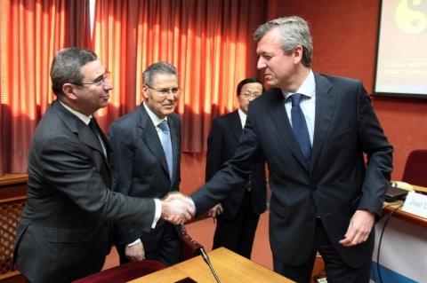Imaxes Recepción Conselleiro Presidencia. Primeira parte. - Xornadas sobre autonomías en España e China: Galicia como exemplo